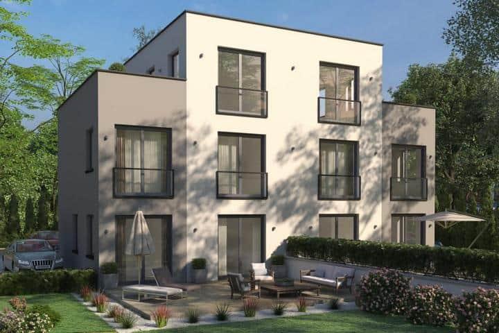 Doppelhaus bauen mit Dachterrasse - Pretium