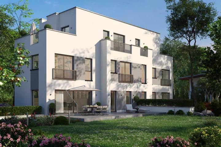 Doppelhaus bauen mit Erker - Ala