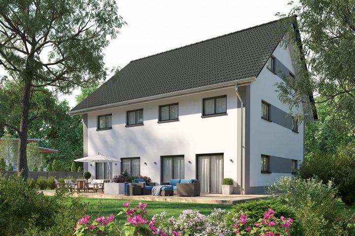 Doppelhaus mit Satteldach - Habilis