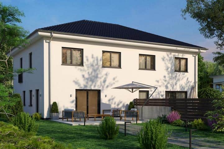 Doppelhaus bauen als Stadtvilla - Duplex