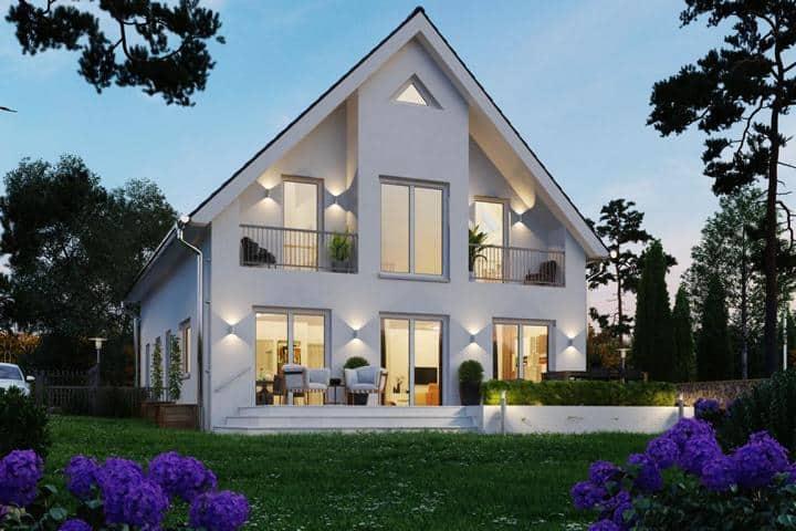 Einfamilienhaus bauen mit Satteldach: Fortuna