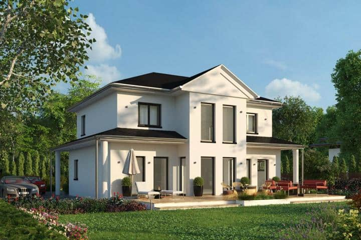 Moderne Stadtvilla bauen mit Erker - Sublimis