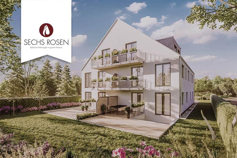 Eigentumswohnungen im Berliner Stadtteil Rosenthal (Bezirk Pankow)